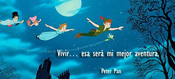 frases disney peter pan
